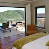 Sea House, Knysna group accommodation; From the ground floor bedroom