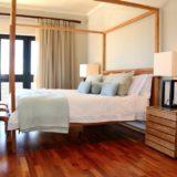 Sea House, Knysna group accommodation; The Master Bedroom