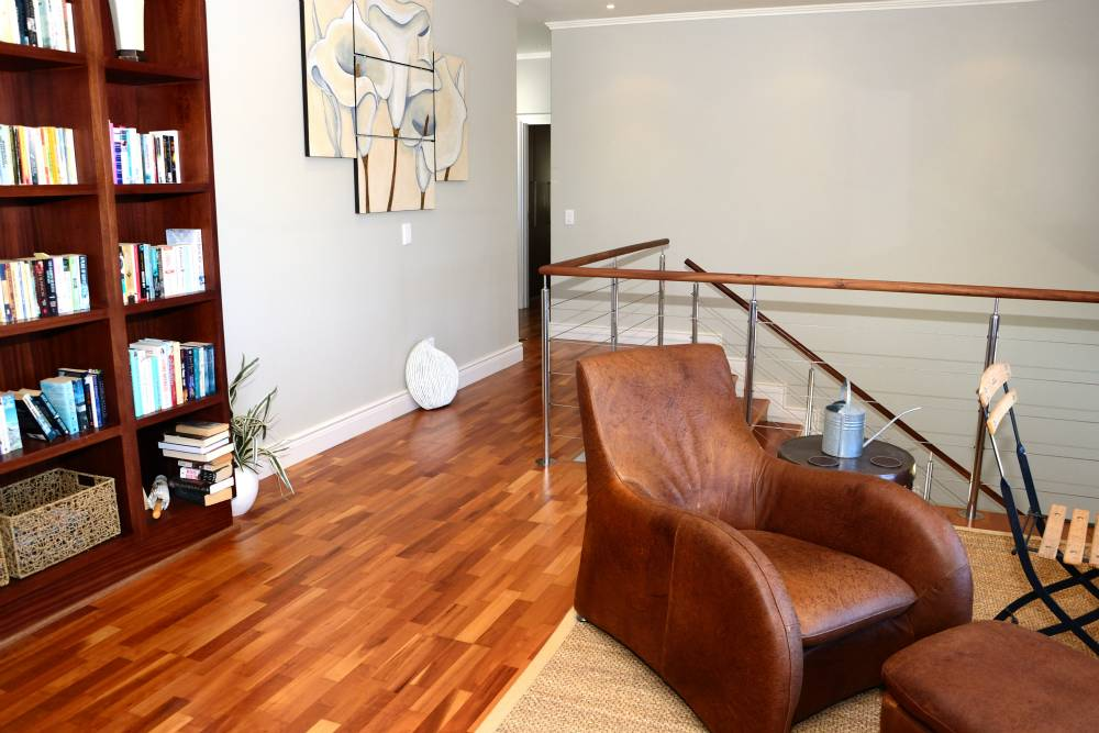 Sea House, Knysna group accommodation; The first floor study