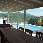 Sea House - View over the pool