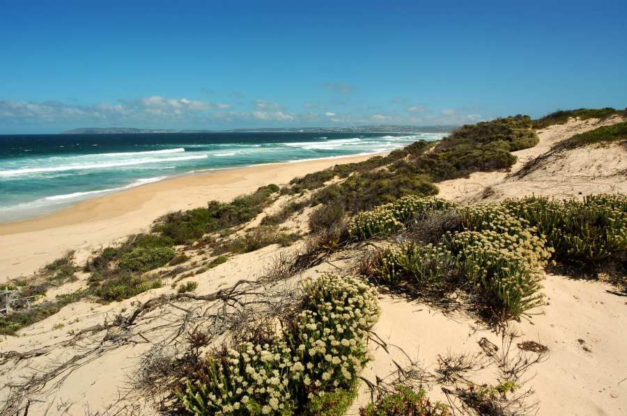 Home by the Sea, Plettenberg Bay Seaside accommodation; Keurbooms beach - a thing of real beauty