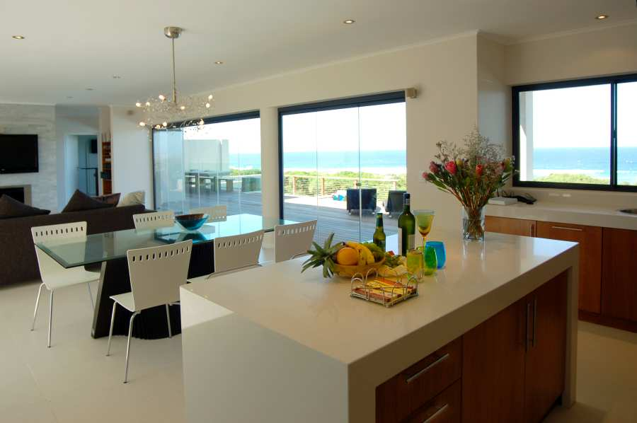 Home by the Sea, Plettenberg Bay Seaside accommodation; A space for entertaining - or just relaxing in