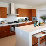 Home by the Sea, Plettenberg Bay Seaside accommodation; The kitchen is well-appointed and a pleasure to work in