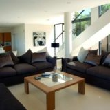 Home by the Sea, Plettenberg Bay Seaside accommodation; Inside it is open, comfortable and beautifully designed