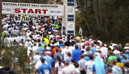 forest marathon start