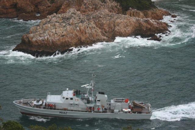 navy boat heads