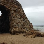 Arch Rock with Plett to the right