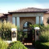 Villa Seaview, Knysna heads villa accommodation; The imposing entrance to Villa Seaview