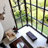 Villa Seaview, Knysna heads villa accommodation; Plenty of glass to open up the views outside