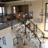 Villa Seaview, Knysna heads villa accommodation; Inside it is a beautiful blend of Italian villa-style and comfortable living