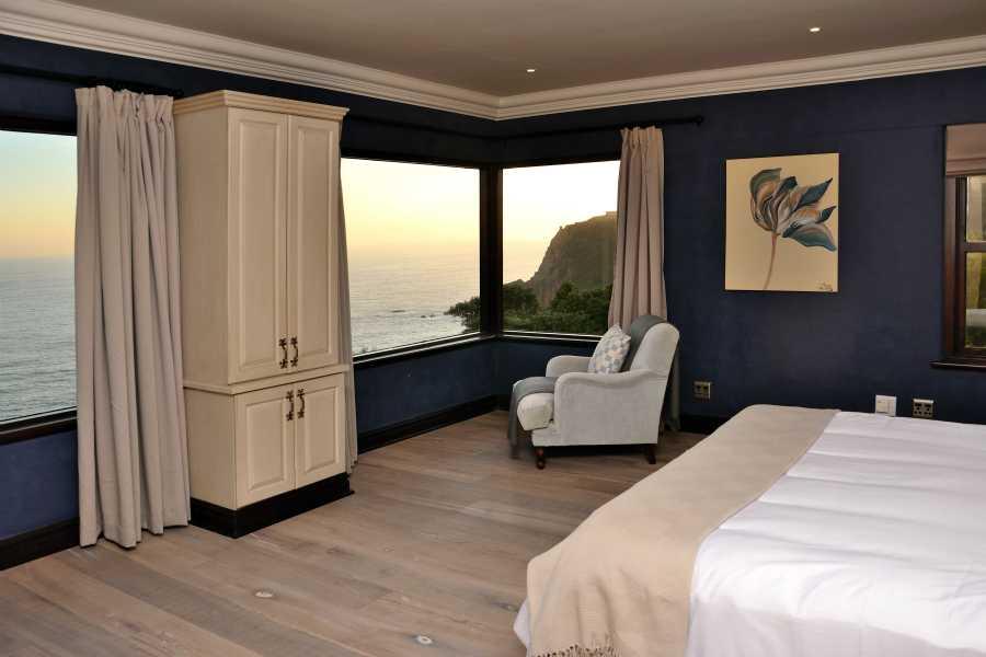 Villa Seaview, Knysna heads villa accommodation; Watch stunning sunsets from Bedroom 3