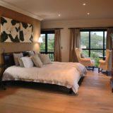 Villa Seaview, Knysna heads villa accommodation; The beautiful Master Bedroom Suite