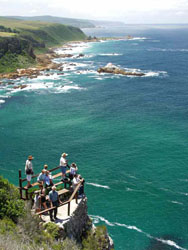 Knysna West Heads View point - with The Featherbed Company