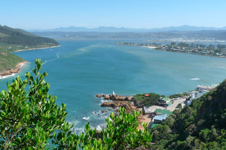 Exclusive Holiday Rentals in Knysna could give you a view like this one!