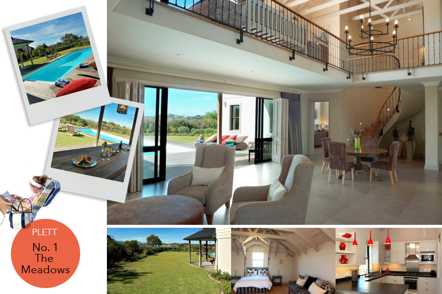 top holiday destinations for luxury rental property near golfing estates in Knysna and Plett