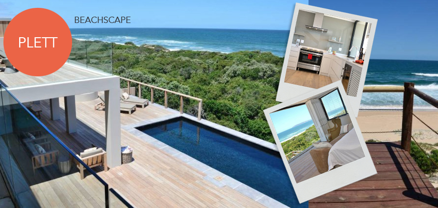 plettenberg bay accommodation luxury beach rental keurboomstrand