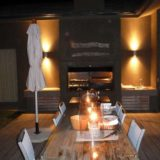 Blue Horizon, Knysna, Golf estate accommodation; Beautiful at night time