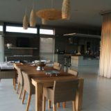 Blue Horizon, Knysna, Golf estate accommodation; Every space is beautiful and tastefully appointed - the Dining Area
