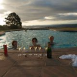 Blue Horizon, Knysna, Golf estate accommodation; Pezula communal, outdoor pool