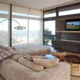 Blue Horizon, Golf estate accommodation; The lounging / TV area