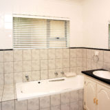 Eagle House, Knysna Heads Accommodation; Shower bathroom bedroom 2 & 3