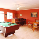 Eagle House, Knysna Heads Accommodation; The bar / games room – a great space for everyone