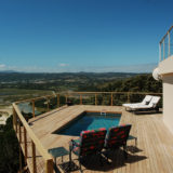 Eagle House, Knysna Heads Accommodation; Leisure Isle – stretched out below