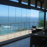 Blue Horizon, Golf estate accommodation; Slide & stack doors open up the amazing views