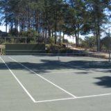 Blue Horizon, Golf estate accommodation; Pezula Tennis court