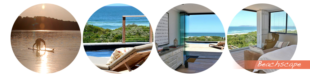 Beachscape in Plett offers prime luxury accommodation with views that rival any of the best beaches in the world
