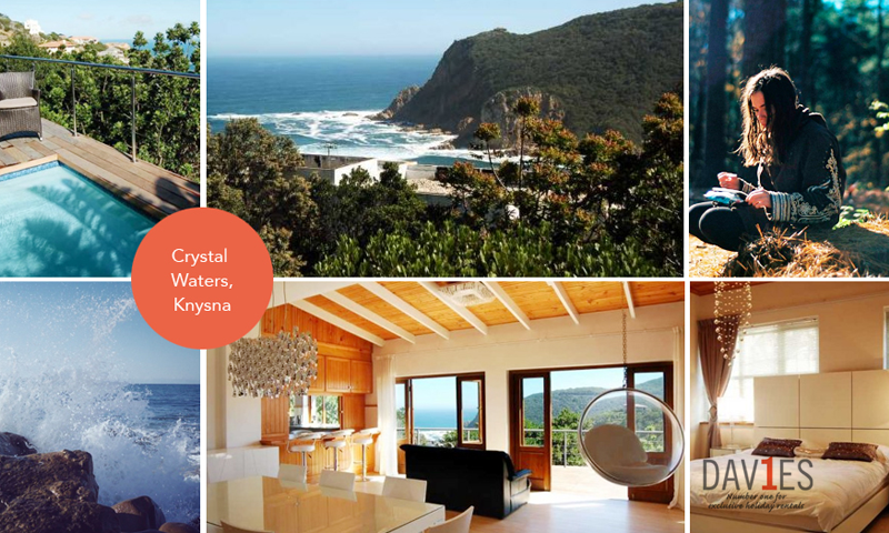 Crystal Waters in Knysna is the creme de la creme of luxury rental accommodation