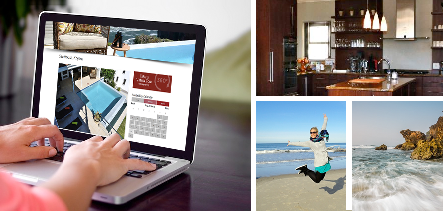 When looking for property to rent for a vacation, write down your key criteria and use a reputable website.