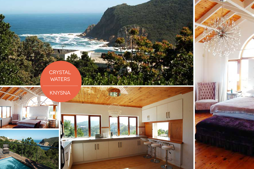 Crystal Waters in Knysna is the epitome of glitzy style in a superb location.