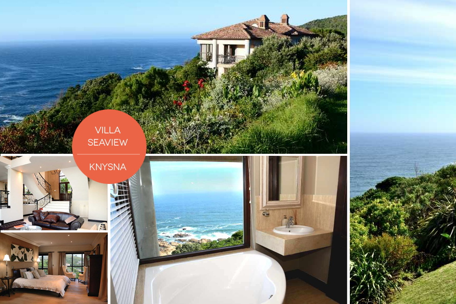 Villa Seaview is the perfect property for whale-watching perched atop the Eastern head of the famous Knysna Heads.