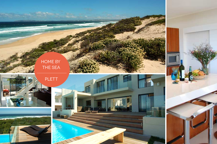 Home by The Sea in Plett is the ultimate beach house.