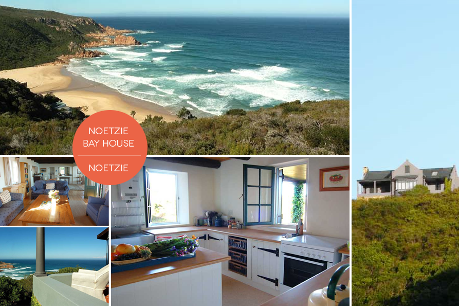 Stay at Noetzie Bay House when you visit South Africa.