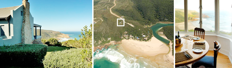 Noetzie Bay House is positioned at the perfect vantage point with stunning panoramic views. Many private villas can offer fabulous accommodation when you visit South Africa.