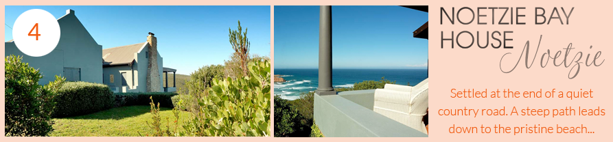 noetzie bay house offers special daily rates until 12th december 2015