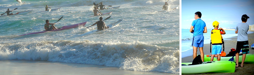 Seaside Plett specials: Don't miss the chance to learn to Kayak or surfski at the Bay Kayak Club in Plett.