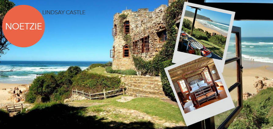 Lindsay Castle in Noetzie is the dream holiday spot for idyllic summer days. The property is positioned on Noetzie Beach, with direct access to the shore and incredible views. A perfect spot to enjoy a summer salad!