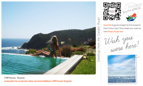 Wish you were here at Cliff House, Knysna