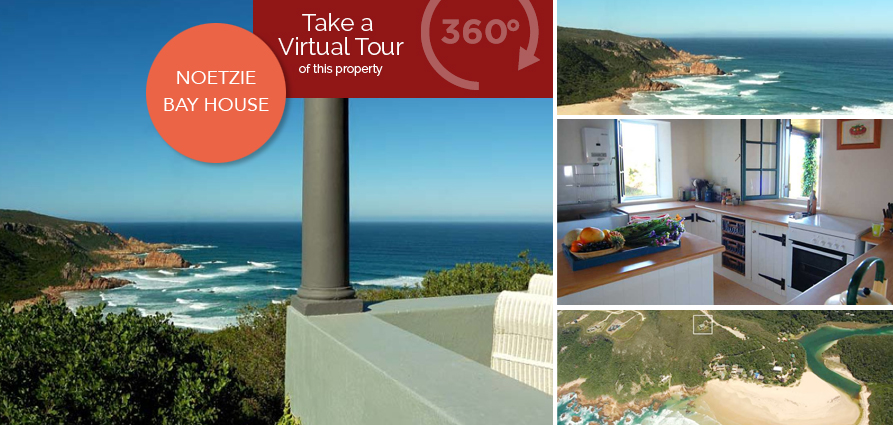 Take a virtual tour around this picturesque holiday hideaway in Noetzie