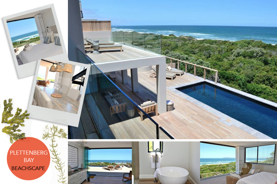 Beachscape in Plett sits just 100m from the pristine beach. A perfect retreat after indulging in Plett activities!