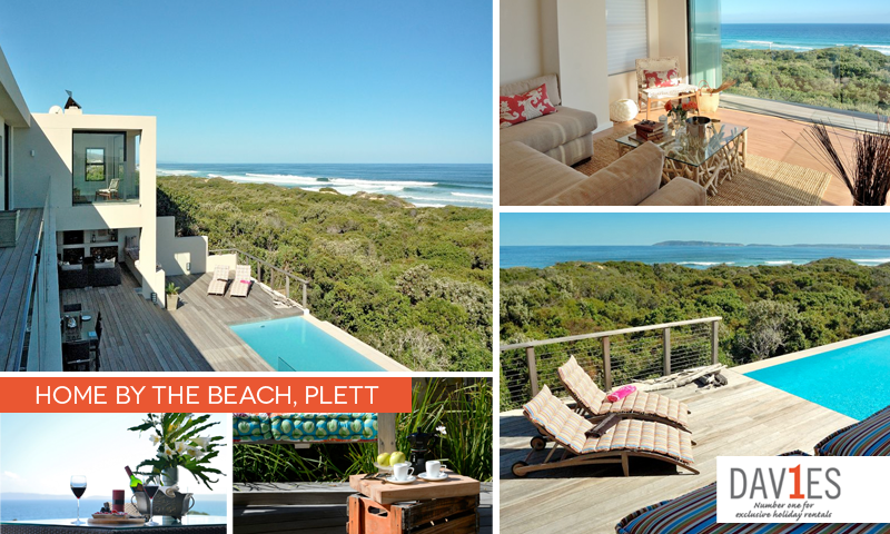 Home By the Beach in Plett is the perfect place to stay during the Sasfin Plett Wine and Bubbly Festival