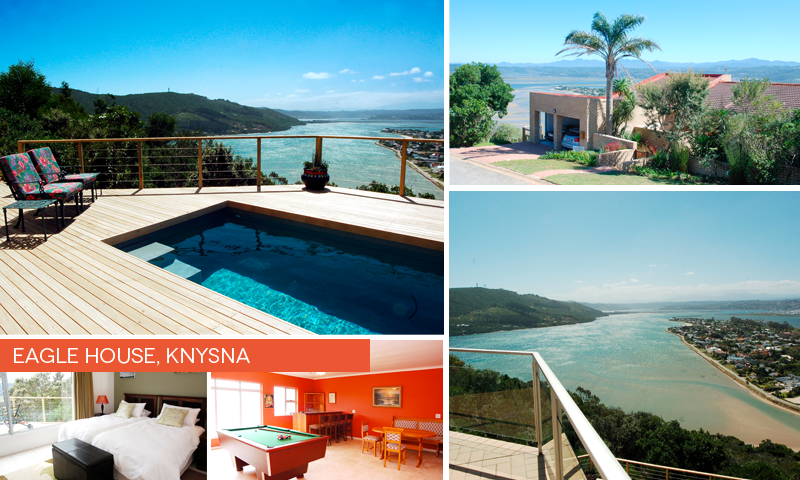 Eagle House in Knysna offers the best spot to stay during the Rocking The Lake event.