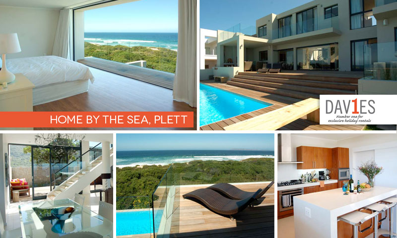 Home by the Sea in Plett offers luxury and comfot for the ultimate beach-lover