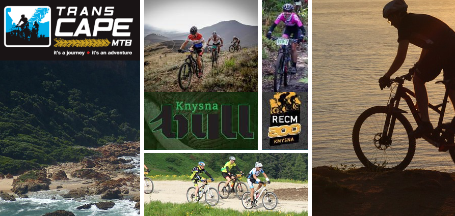 TransCape MTB and Knysna bull MTB in Knysna and plett in February