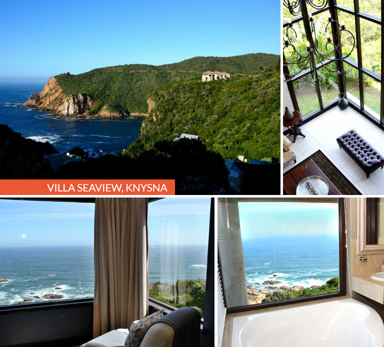 Taking part in the TransCape MTB and looking for luxury accommodation in Knysna? Villa Seaview in Knysna offers comfortable décor, spacious rooms & a stunning outlook - the stuff of dreams