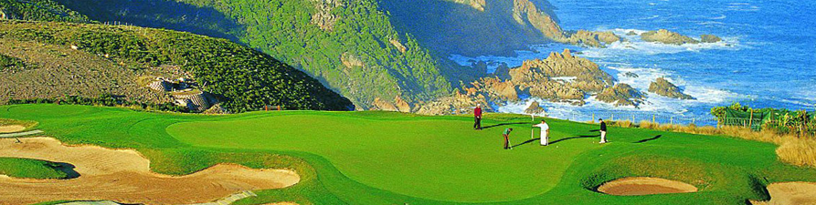 World class Pezula Golf Course; Image courtesy of Knysna Tourism