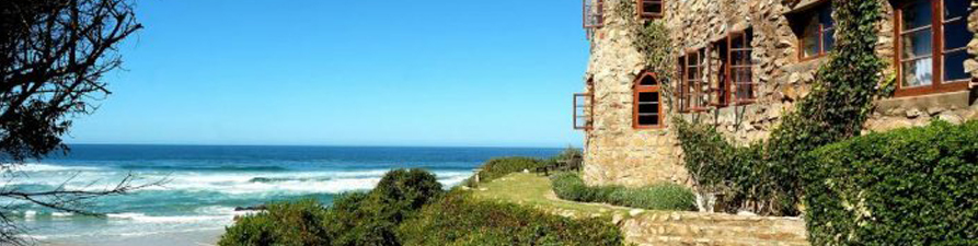 Noetzie Beach castles for rent